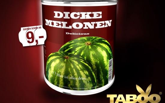 Dicke Melonen